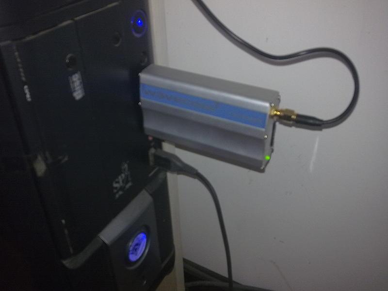 金笛短信应用于中软酒店监控报警系统