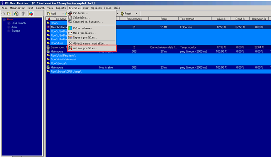 Hostmonitor监控软件与金笛短信web中间件集成实现短信报警的解决方案