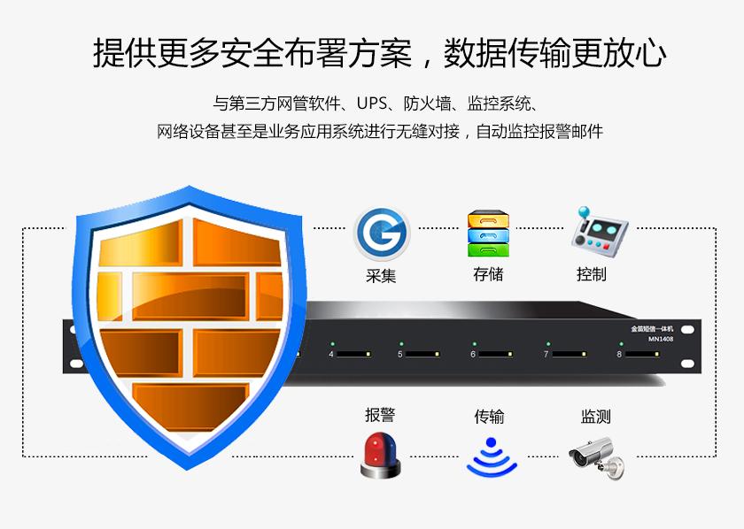 提供更多安全部署方案 数据传输更放心